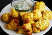 indian spiced roasted cauliflower
