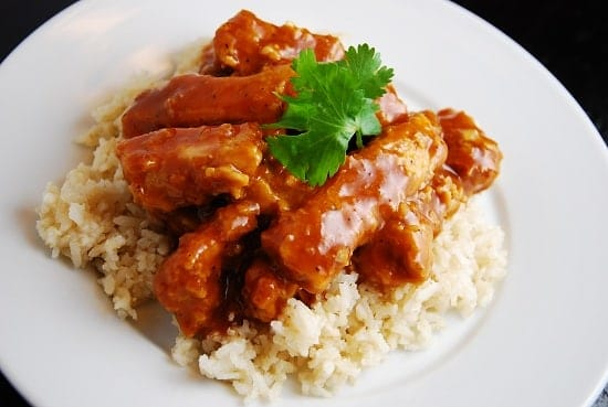 Baked General Tso's Chicken