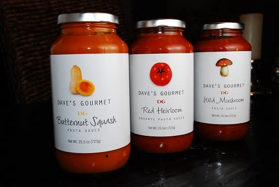 daves gourmet pasta sauces