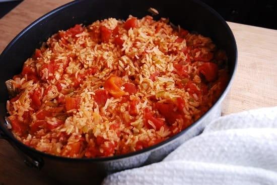 light spanish rice