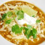 White Turkey Chili Recipe – 5 Points