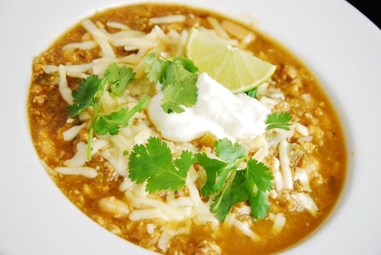 Turkey White Chili Recipe — Dishmaps