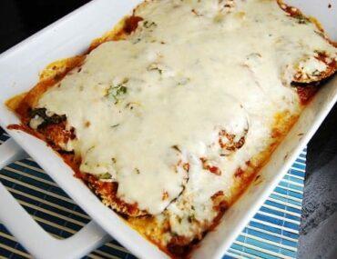 eggplant parmesan 1