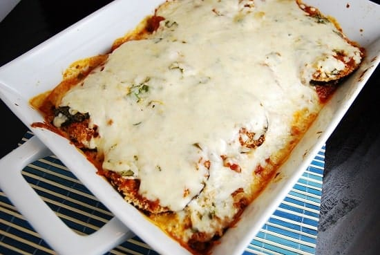 Eggplant Parmesan Recipe -5 Points +