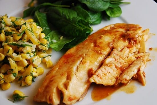 lemon ginger tilapia
