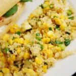 Quinoa, Zucchini and Corn in Lemon Butter – 3 Points