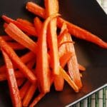 Roasted Carrot Sticks Recipe – 0 Points