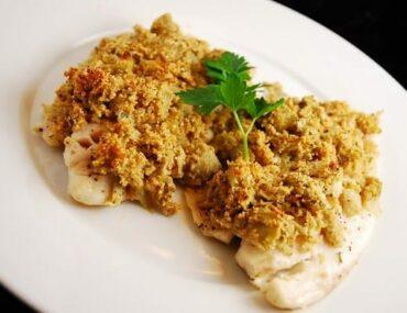 artichoke and parmesan tilapia