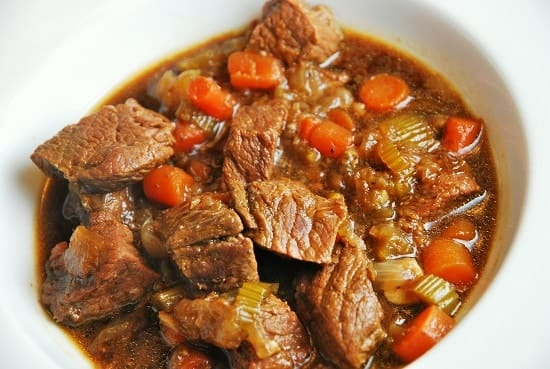 Day with this thick and hearty Weight Watchers Guinness Beef Stew ...