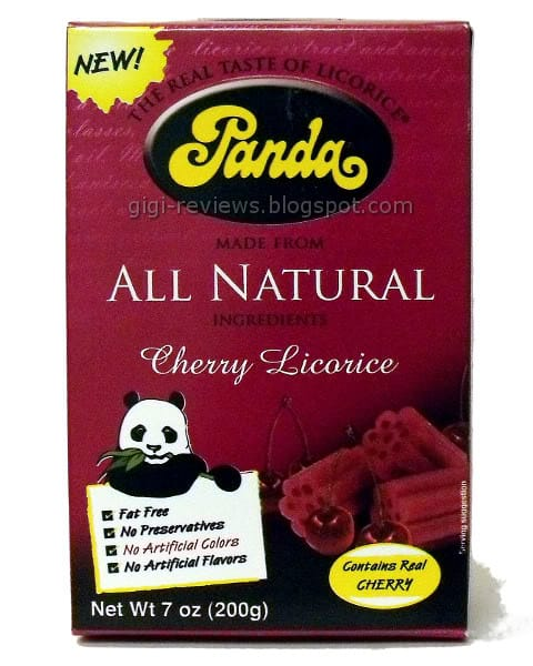 panda all natural licorice