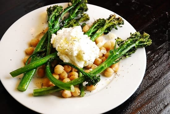 Baby Broccoli and Ricotta Salad