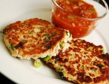 pan seared tuna cakes