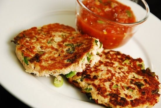 Pan Seared Tuna Patties