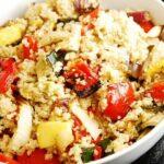 Roasted Vegetable Quinoa Salad Recipe – 4 Points