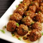 Asian Meatballs Recipe – 4 Points