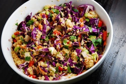 Crunchy Thai Quinoa