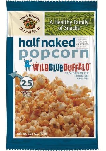 half naked popcorn