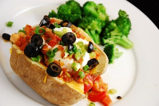 southwestern stuffed baked potato