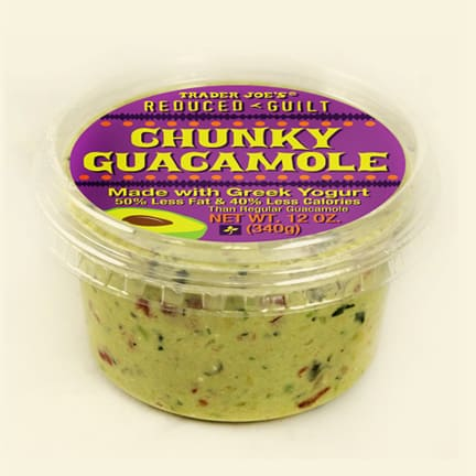 trader joes reduced guilt guacamole