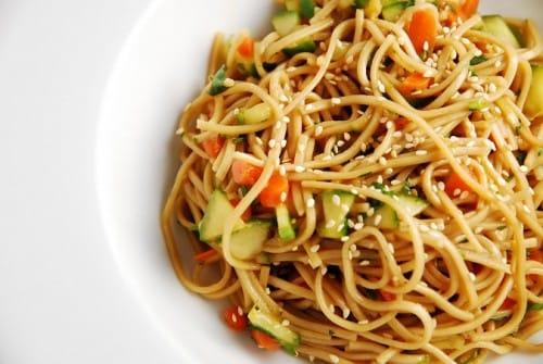 Oriental Cold Noodles