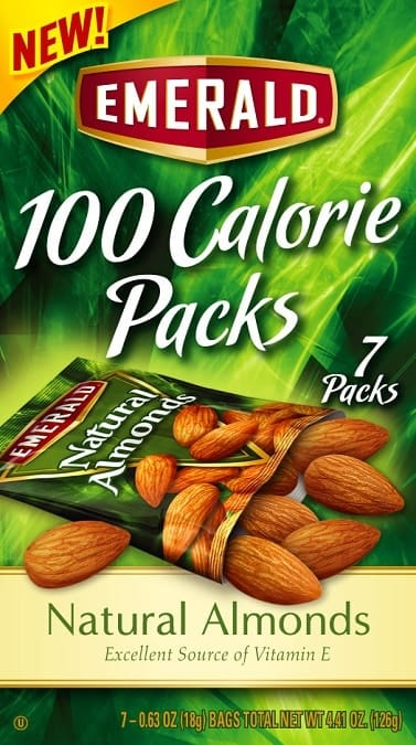 Emerald 100 Calorie Packs of Almonds