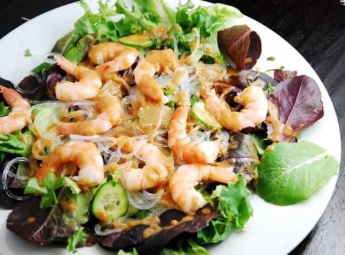 Thai Shrimp Salad Recipe – 5 Points + - LaaLoosh