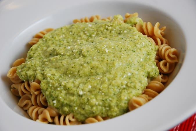Broccoli Feta Pasta Sauce Recipe 2 Points Laaloosh