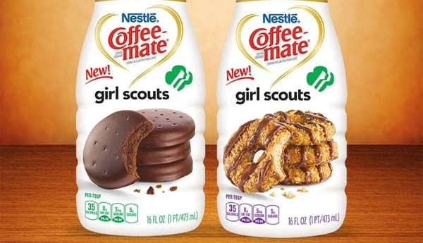 Coffee-mate Girl Scouts Cookie Liquid Creamers