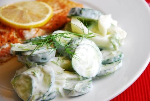 Cucumber Fennel Salad – 1 Points +