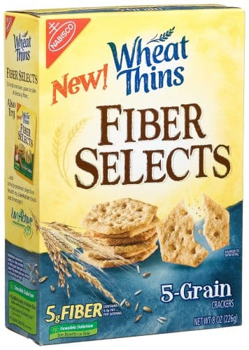 Nabisco Wheat Thins Fiber Select