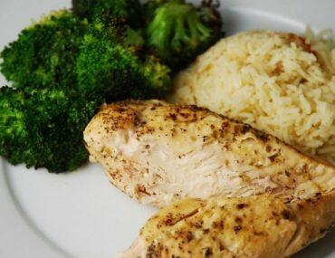 slow cooker lemon garlic chicken