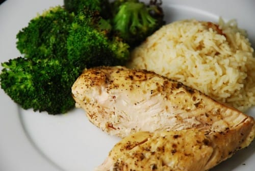 Lemon Garlic Slow Cooker Chicken Recipe – 3 Points + - LaaLoosh