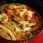 Tomato Basil Chicken Recipe – 3 Points