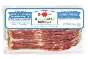 Applegate Reduced Sodium Sunday Bacon