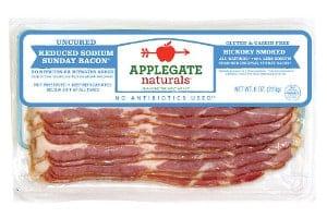 applegate reduced sodium sunday bacon