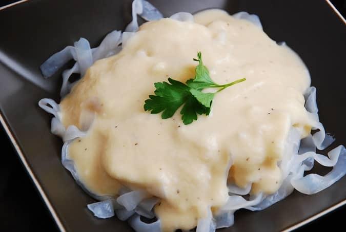 creamy cauliflower cheese sauce