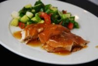 crock pot sweet and sour garlic chicken