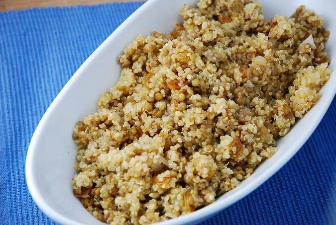 Persian Lentil Quinoa