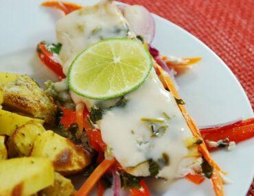 thai style baked mahi mahi