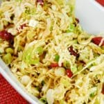 Oriental Cabbage and Cranberry Salad Recipe – 2 Points