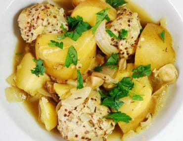 chicken quinoa meatball stew