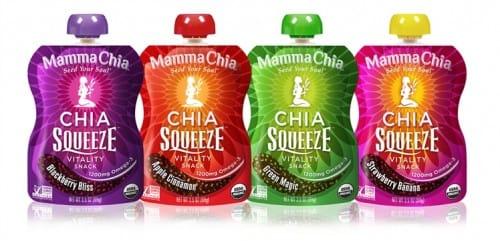 Mamma Chia Squeeze Vitality Snack