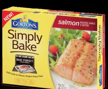 gortons simply bake salmon