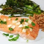 Lemon Garlic Salmon Recipe – 5 Points