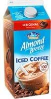 almond breeze iced coffee