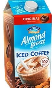 almond breeze iced coffee