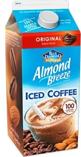 Almond Breeze Iced Coffees