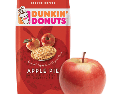 apple pie flavored coffee
