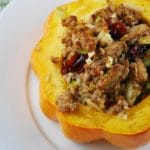 Ground Turkey Stuffed Acorn Squash Recipe – 6 Points