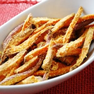 sweet potato cornmeal fries